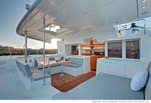 Pont arrière Lagoon 450 - Sail Paradise