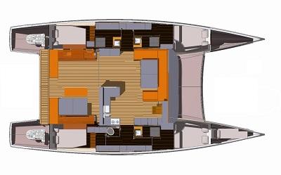 Plan aventura 43 Sail Paradise