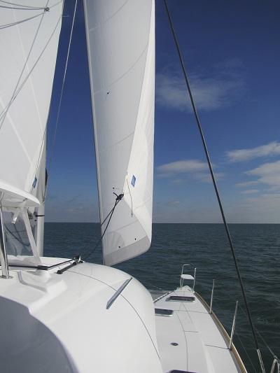 Vue proue - Equilibre - Sail Paradise